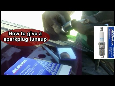 How To Change Spark Plugs On A Suv Gmc Envoy Youtube