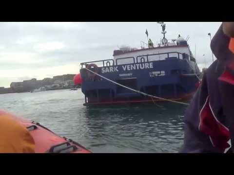 Rib boat ride 2016 round Guernsey