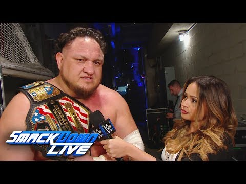 Samoa Joe has a warning for any U.S. Title challengers: SmackDown LIVE, March 5, 2019