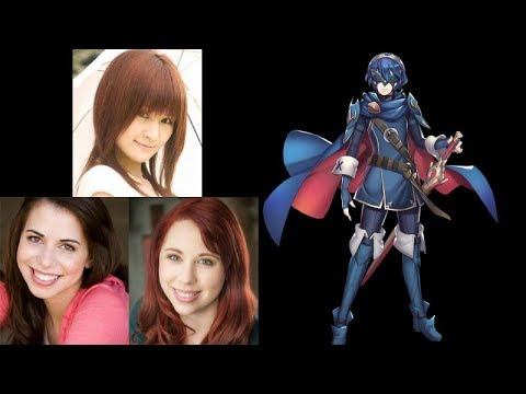 Video Game Voice Comparison- Lucina (Fire Emblem)