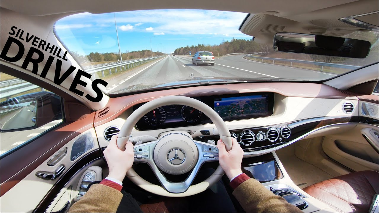 2018 MERCEDES S560L 4-MATIC - quick POV review and test drive I 4K