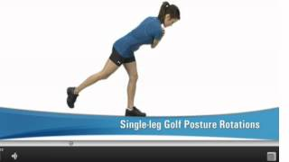 Golf Fitness - How to Maintain Perfect Golf Backswing Position Through Exercises for Golfers