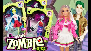 ZOMBIE GIRLS Dolls Full Collection Unboxing! New Guests At Hotel Zombie