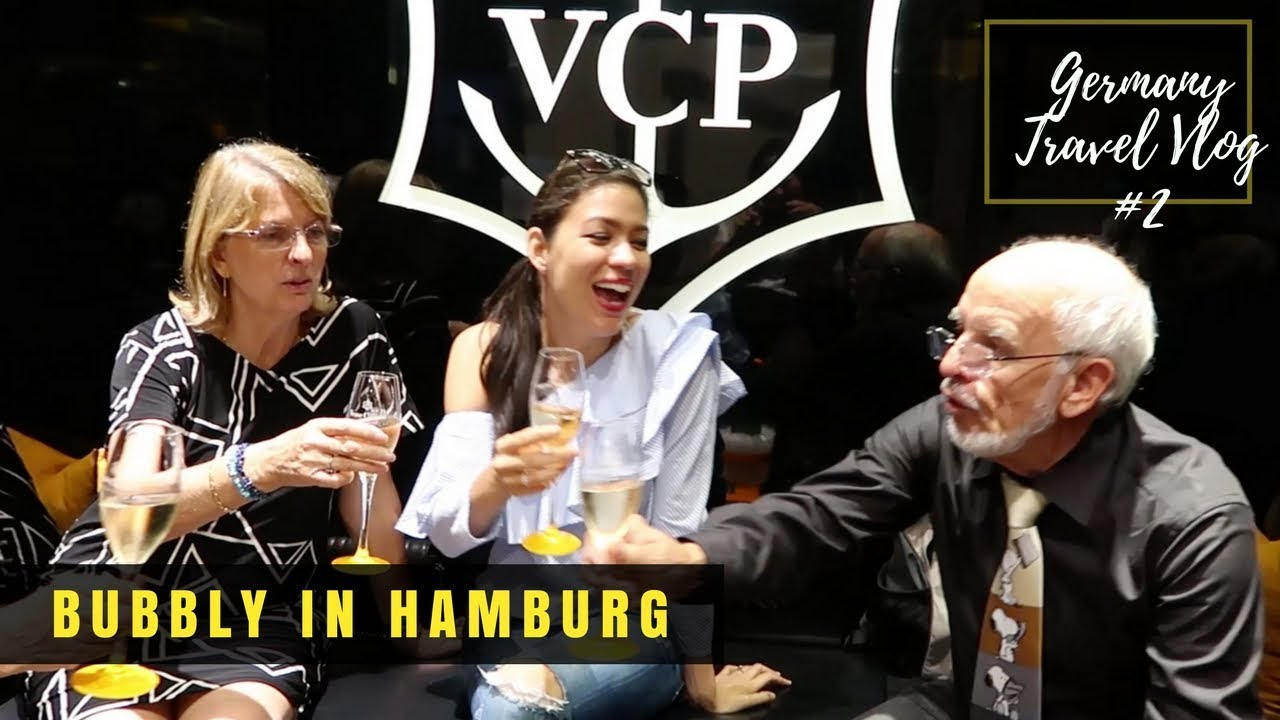 Some Bubbly in Hamburg at the Verve Clicquot Boutique in Alsterhaus