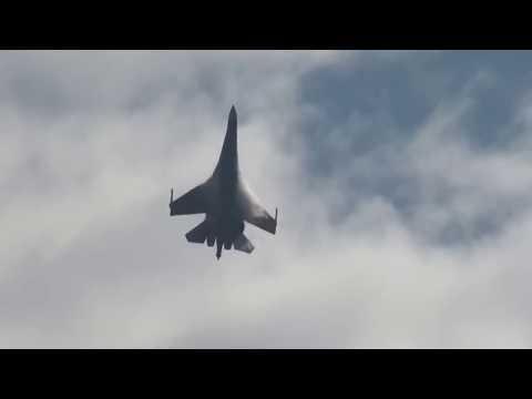 Paris Air Show in Russian Su-35 Display very impressive