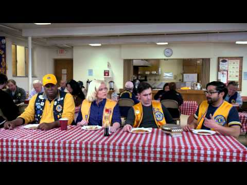 Spoof on Lions Clubs Pancake Breakfasts