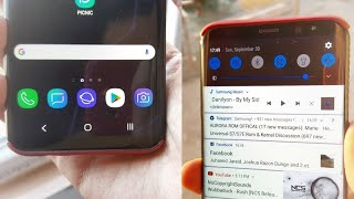 Android Pie For Samsung | Dark Theme