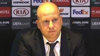 Chelsea 1-0 MOL Vidi - Marko Nikolic Full Post Match Press Conference - Europa League