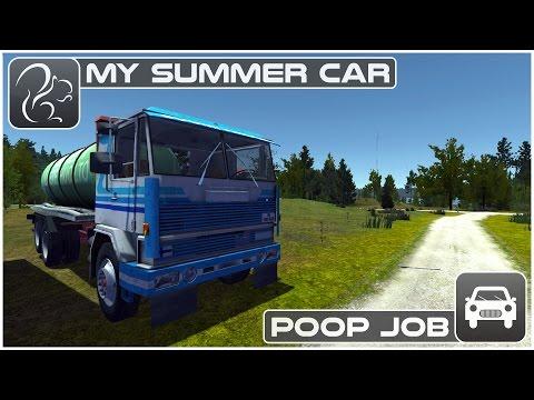 My Summer Car - Poop Job