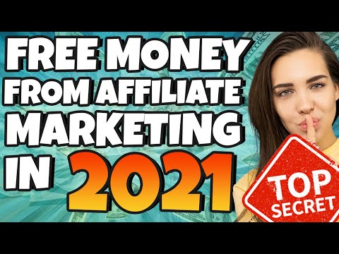 Earn Money from Affiliate marketing FOR FREE IN 2021 (Make Money Online)