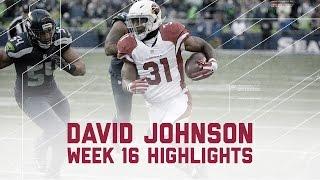 David Johnson's Monster 3 TD Game vs. Rival Seahawks | NFL Week 16 Player Highlights