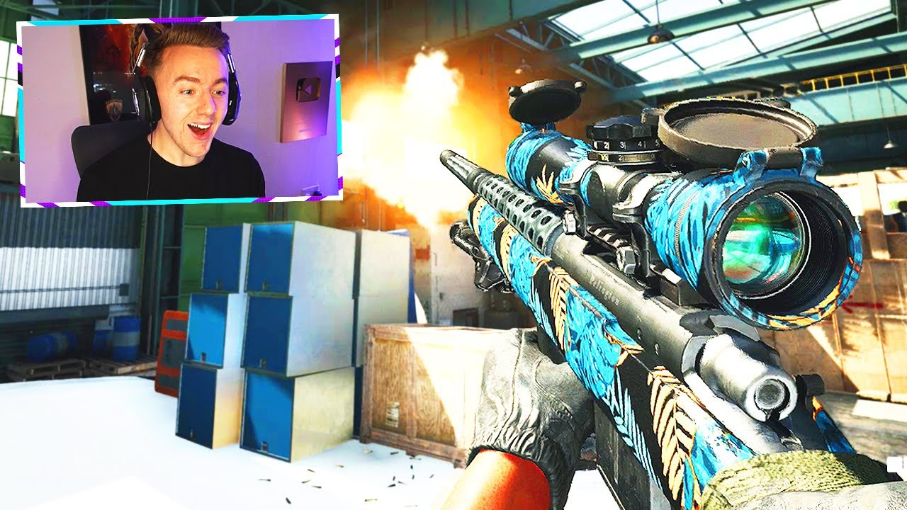this is.. BLACK OPS COLD WAR SNIPING!! (new sniper gameplay)