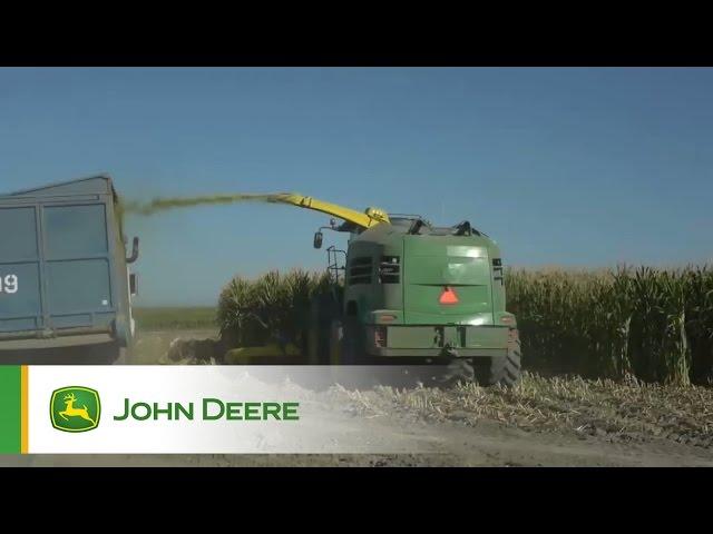 Trinciare in California - Trincia John Deere Serie8000 (Anteprima Episodio 4)