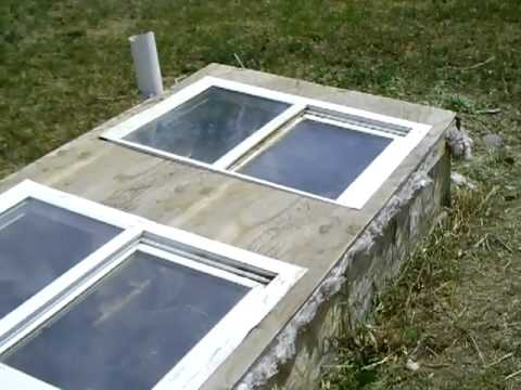 Solar composting toilet by solarcabin youtube for Cabin septic systems
