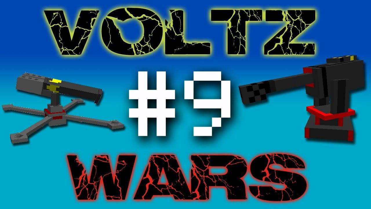 Minecraft Voltz Wars Advanced Solar Panel 9 Youtube