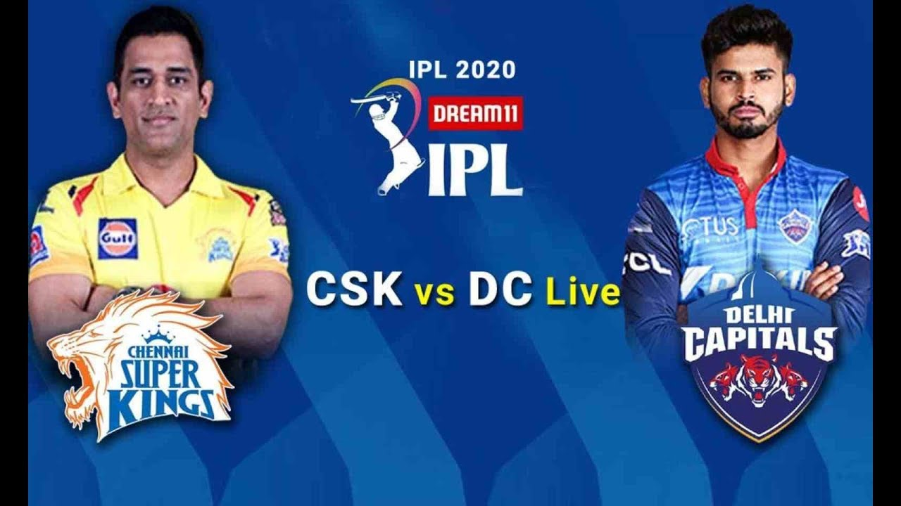 IPL Live :- CSK vs DC 7th match live score and commentary | Live Cricket 2020