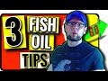 How to Use Fish Oil for Muscle Growth and Recovery: 3 Tips You NEED