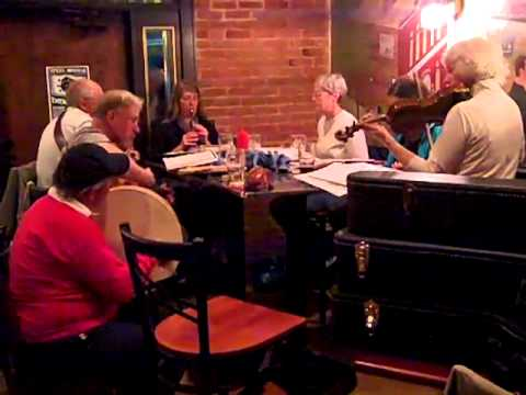 Irish music session at Kitty O'Reillys Irish Pub in Sturgeon Bay