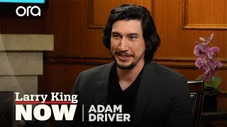 Adam Driver talks Lena Dunham's impact on Hollywood | Larry King Now |