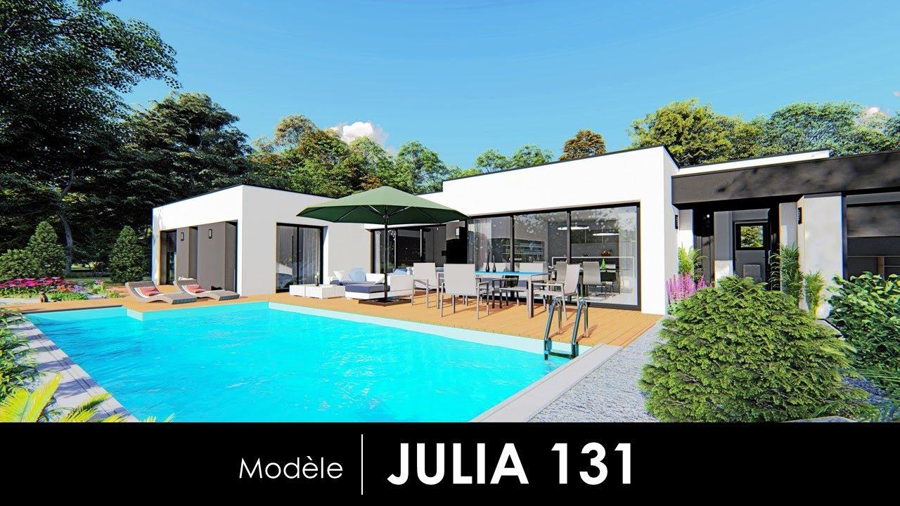 Modele De Maison Julia 131 By Rg Conception