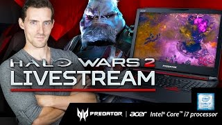 Halo Wars 2 Livestream with Funhaus' James Willems