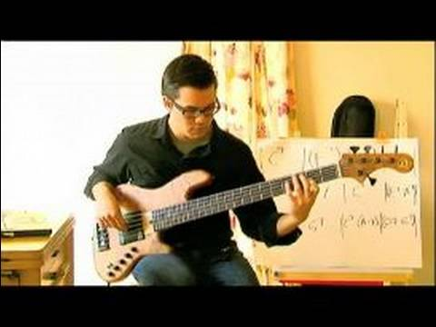 how to play funk bass scales