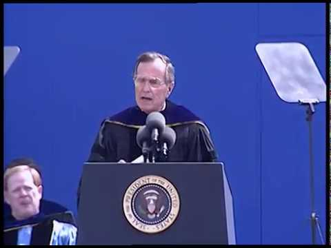 Commencement Address at University of Michigan - 04 May 1991