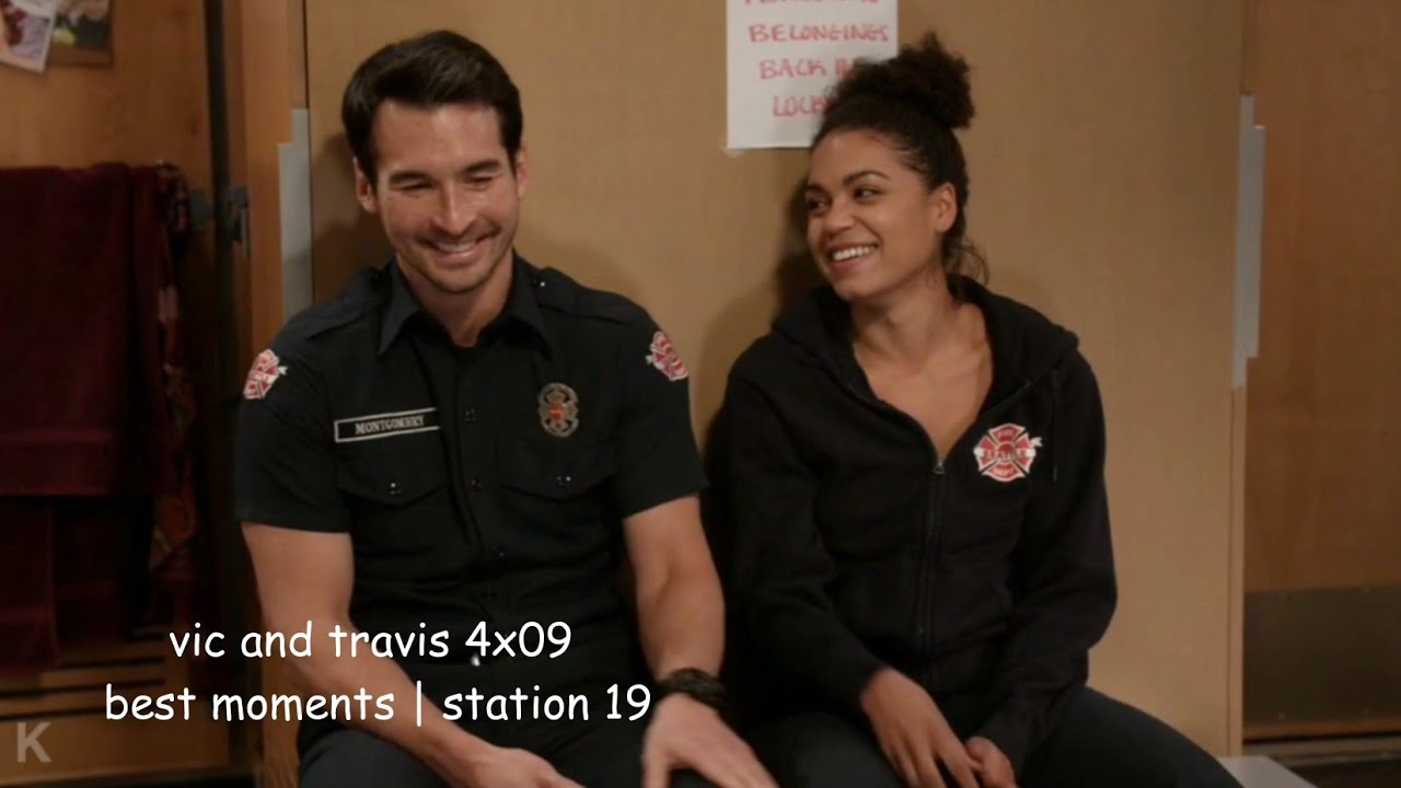 Download vic and travis 4x09 best moments   station 19