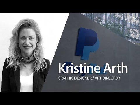 Live Graphic Design with Kristine Arth - Day 2/3
