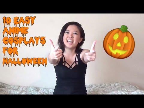 10 Easy Anime Cosplays for Halloween