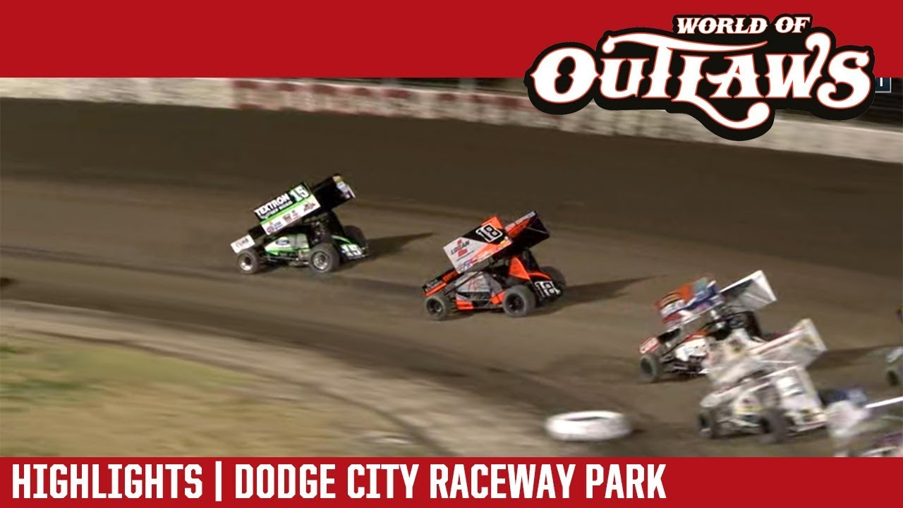 world-of-outlaws-craftsman-sprint-cars-dodge-city-raceway-park-october-20-2018-highlights