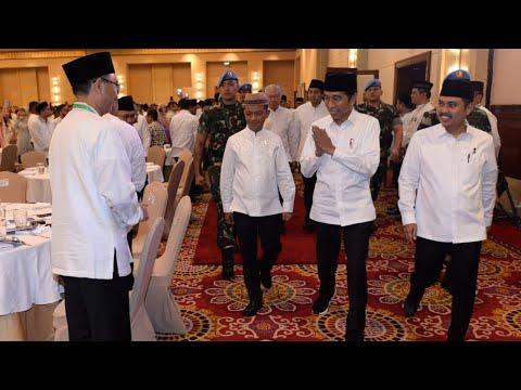 Presiden Jokowi Hadiri Silaturahmi Nasional dan Buka Puasa Bersama HIPMI, Jakarta, 26 Mei 2019