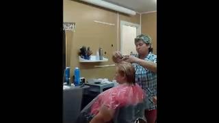 Беспредел в парикмахерской