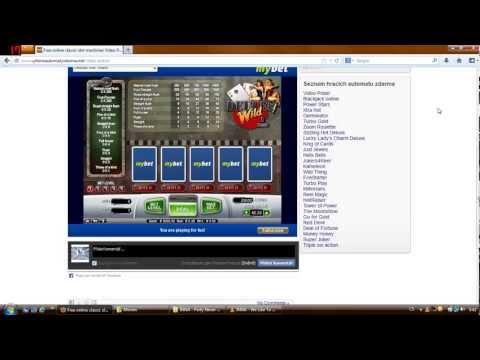 Hrací automaty zdarma bez registrace -- Free Online Slots Machine Games Video Poker  Online