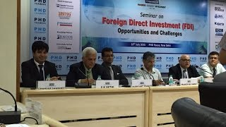 Valuation aspects of FDI in India & India Competitiveness, 2015
