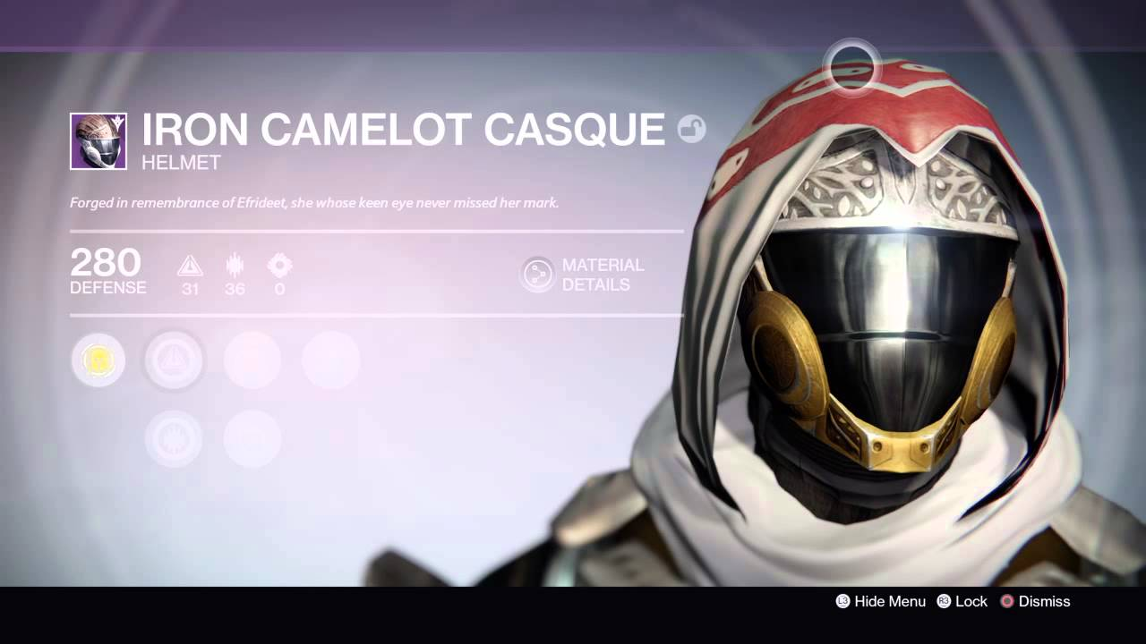 destiny iron camelot casque showcase new iron banner helmet ps4 exclusive youtube. Black Bedroom Furniture Sets. Home Design Ideas