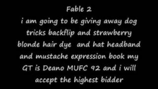 fable 2 hat headband and mustache