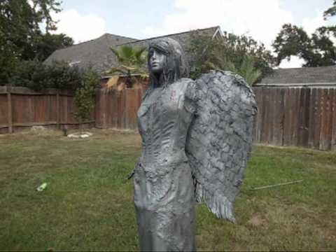 Diy scary halloween decorations for yard - Angel Halloween Project Prop Diy Amp Ghostly Spirits Youtube