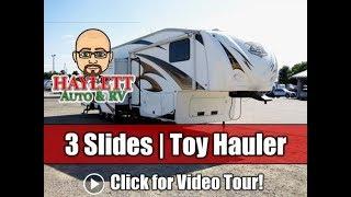 Used 2012 XLR 35x14 Fifth Wheel Toy Hauler