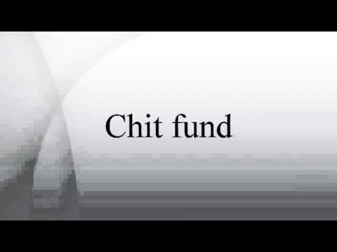 What is Chit fund? Wiki Article Video