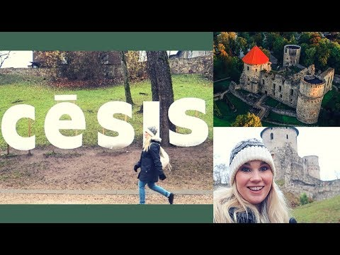 Cēsis, Latvia  | The Coolest Little Medieval Town! | Travel Vlog Guide 2018