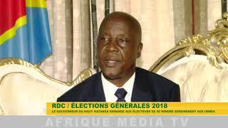 RDC MESSAGE DU GOUVERNEUR