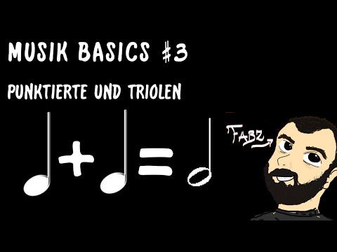 MUSIK-BASICS #3 - Punktierte und Triolen