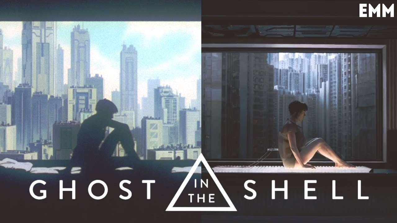 Ghost In The Shell Movie Vs Anime Youtube