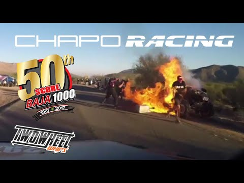 Official 50th Baja 1000 Pre-run to Podium Finish with Chapo Racing