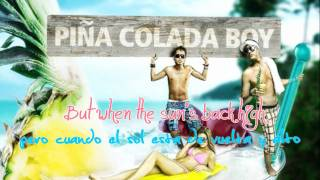 Baby Alice ¬ Piña Colada Boy ¬ Chico de piña colada ¬ Lyric en Ingles y Español