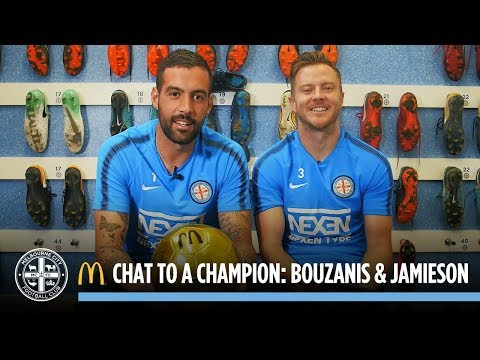 McDonald's Chat to a Champion: Dean Bouzanis and Scott Jamieson