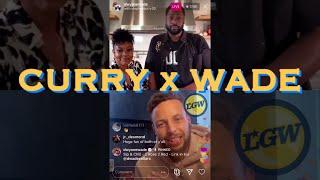 "📱 Entire Stephen/Ayesha Curry x Dwayne Wade ""Wine Down"": fear+MSG 54; Kobe; Aaron Gordon dunk +MORE"