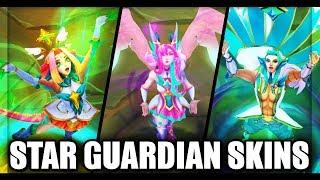 Download All New 2019 Star Guardian Skins Final Update (League of Legends)