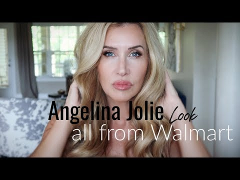 "angelina-jolie-""look""~-all-from-walmart"